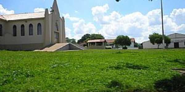 Pindaíbas-MG-Igreja Matriz-Foto:Iriberto Mota