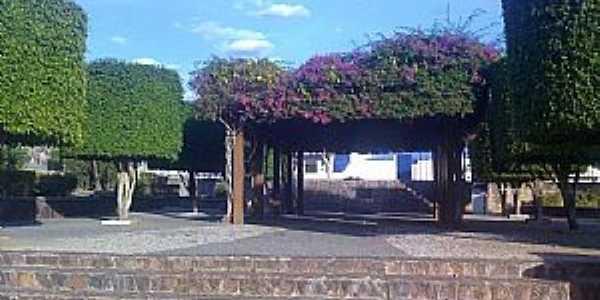 Antas-BA-Pergolado(antigo Caramanchão)na Praça central-Foto:cleidson santana