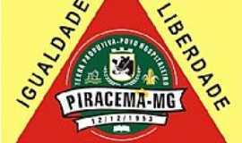 Piracema - Bandeira de Piracema-MG