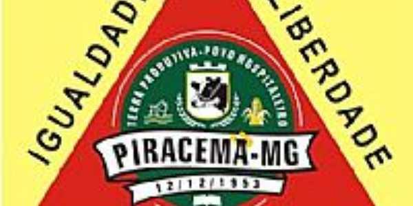 Bandeira de Piracema-MG