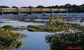 Pirapora - Pirapora-MG-Ponte Marechal Hermes e o Rio São Fracisco-Foto:Almacks luiz silva