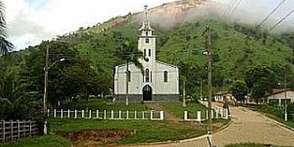Poaia-MG-Igreja da Imaculada concei��o-Cart�o Postal do Distrito-Foto:Evaldo Fonseca