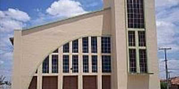 Antônio Gonçalves-BA-Igreja Matriz-Foto:barro amarelo