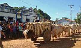 Poções de Paineiras - Carro de boi em Poções-Foto:Wilson Fortunato