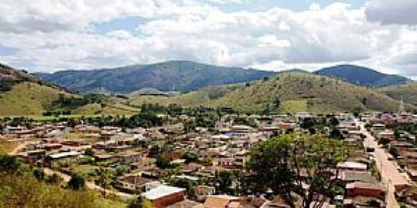 Pocrane-MG-Vista parcial da cidade-Foto:Elp�dio Justino de Andrade