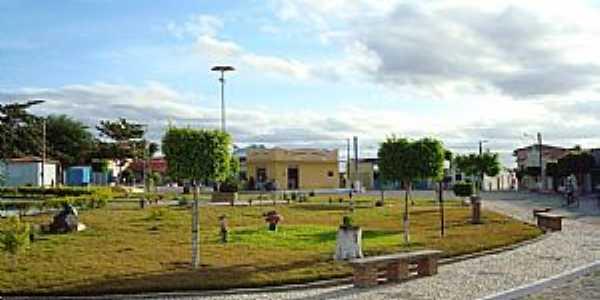 Aporá-BA-Praça central-Foto:Genil Torquato da Silva