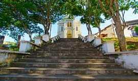 Ponte Nova - Ponte Nova-MG-Escadarias da Igreja do Rosário-Foto:sgtrangel