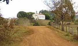 Ponto Chique - Capela de Santa Cruz em Ponto Chique-Foto:tiantunes