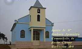 Ponto Chique - Igreja de N.Sra.Aparecida na Comunidade de Ponto Chique-Foto:Ronaldo Fernandes Ol…