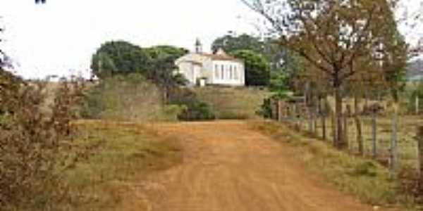 Capela de Santa Cruz em Ponto Chique-Foto:tiantunes