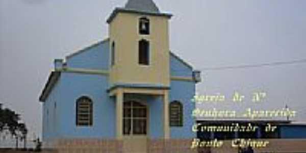 Igreja de N.Sra.Aparecida na Comunidade de Ponto Chique-Foto:Ronaldo Fernandes Ol…