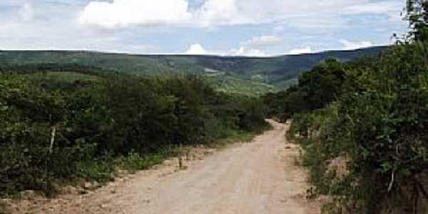 Ponto dos Volantes-MG-Estrada q leva ao sabão na Comunidade de São João Grande-Foto:Dione alves