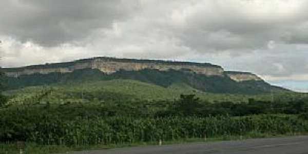 Ponto dos Volantes-MG-Vista à partir da estrada na Comunidade de São João Grande-Foto:Eliseu Pinheiro Lopes