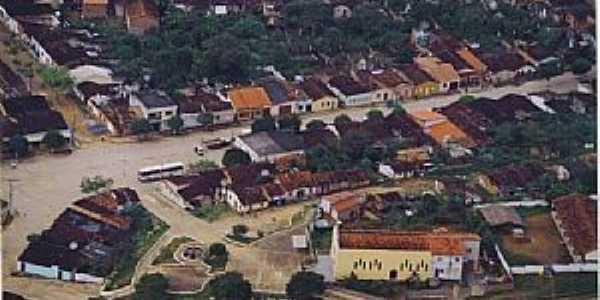 Apuarema-BA-Antiga foto do centro da cidade-Foto:spao