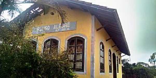 Pouso Alegre-MG-Antiga Estação Ferroviária-Foto:Nivas Larsan