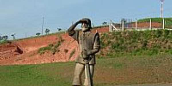 Pouso Alegre-MG-Memorial à Fernão Dias Paes-Foto:Rogério Santos Perei…