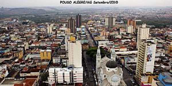 Pouso Alegre-MG-Vista parcial da cidade-Foto:STen Costa Manso