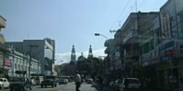 Rua central de Pouso Alegre-MG-Foto:Ro Fort