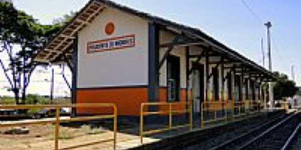 Prudente de Morais-MG-Estação Ferroviária-Foto:Afrânio Humberto Porcaro B