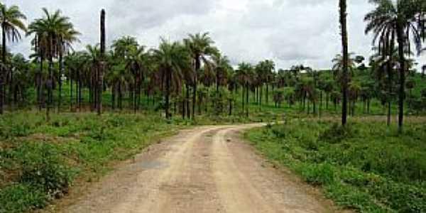 Quartel de São João-MG-Estrada vicinal-Foto:altoabaete Abaete