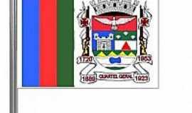 Quartel Geral - Bandeira da cidade de Quartel Geral-MG