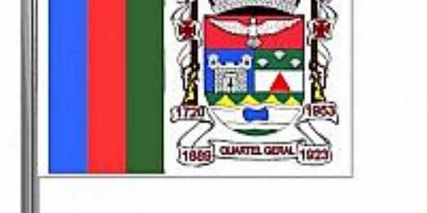 Bandeira da cidade de Quartel Geral-MG