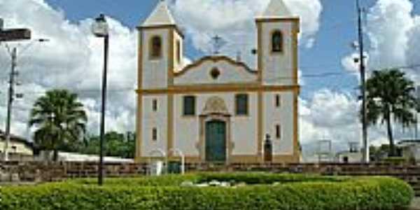 Queluzito-MG-Matriz de Santo Amaro Abade-Foto:Rogério Santos Perei…