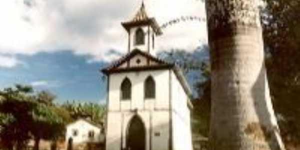 Igreja Nossa Senhora do Rosário antes da reforma-Foto:matheus siqueira