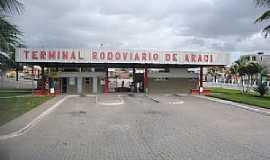 Araci - Araci-BA-Terminal Rodoviário-Foto:www.cidade-brasil.com.br