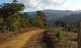 Resplendor - Estrada da Serra do Cascalho em Resplendor-MG-Foto:Tedd Santana