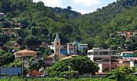 Resplendor - Vista parcial com destaque para a Igreja de Resplendor-MG-Foto:BARBOSA