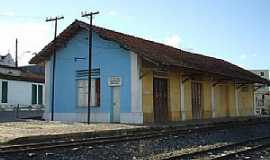 Aramari - Aramari-BA-Estação Ferroviária em 2009-Foto:Roosevelt Reis