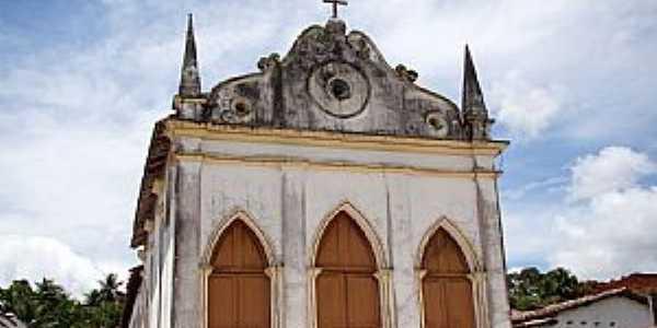 Aramari-BA-Matriz do Menino Jesus-Foto:Vicente A. Queiroz