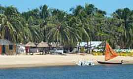 Barra de S�o Miguel - Praia do Gunga-Foto:Richelieu Tarcisio