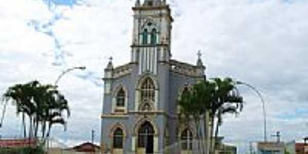 Igreja Matriz de Santa Luzia foto Montanha