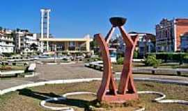 Rio Novo - Monumento ao Centenário no centro de Rio Novo-MG-Foto:Jorge A. Ferreira Jr…