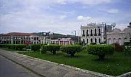 Rio Novo - Praça Marechal Floriano em Rio Novo-Foto:joão walfrido