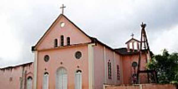 Matriz de N.Sra.da Conceição em Arataca-BA-Foto:Vicente A. Queiroz