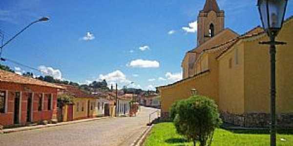 Ritápolis-MG-Casario no Centro Histórico-Foto:André Saliya