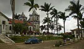 Ro�as Novas - Pra�a na lateral da Igreja de Ro�as Novas-Foto:Anizio Rezende
