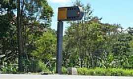 Roças Novas - Radar na Rodovia em Roças Novas-Foto:Serneiva