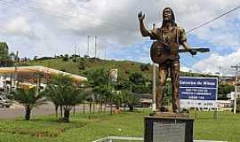 Rodeiro - Rodeiro-MG-Homenagem ao cantor Zé Geraldo, no trevo de acesso-Foto:rodeiro.mg.gov.br