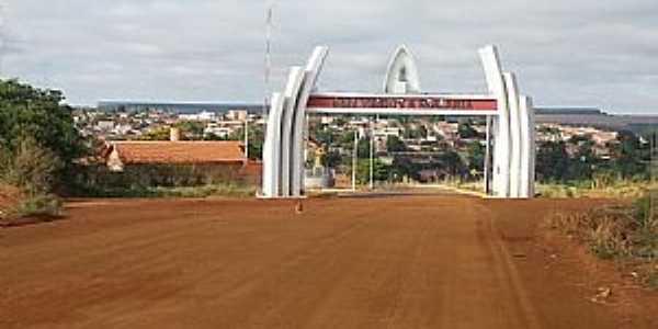Romaria-MG-Pórtico de entrada da cidade-Foto:www.luizhumbertocarneiro.com.br