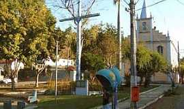 Rosário de Minas - Rosário de Minas-MG-Praça central-Foto:benficanet.com
