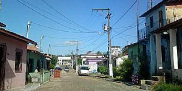 Aratu�pe-BA-Rua no centro-Foto:Andre L. S. Lacerda