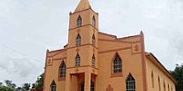 Igreja Católica de Roseiral-Foto:aziel juliao de oliv…