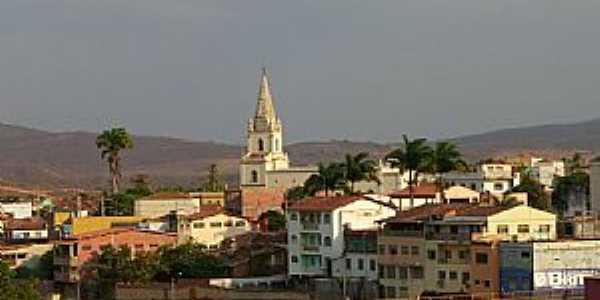 Salinas-MG-Linda vista do centro da cidade-Foto:JOTALU