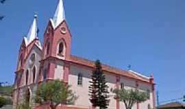 Santa Bárbara do Monte Verde - Igreja de Santa Bárbara em Santa Bárbara do Monte Verde-Foto:Raymundo P Netto