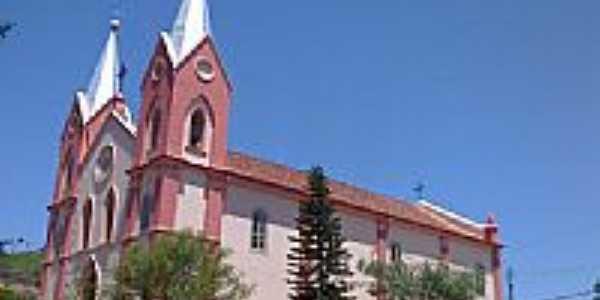 Igreja de Santa Bárbara em Santa Bárbara do Monte Verde-Foto:Raymundo P Netto