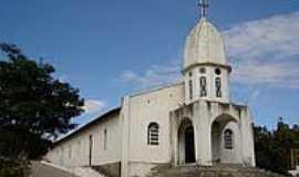 Santa Cruz de Salinas - Igreja Bom Jesus-Foto:Alan Silva